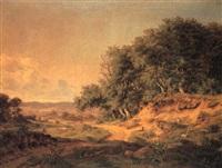 et sjaellandsk landskab by julius hellesen