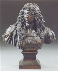 bust of louis xiv by jean warin the younger