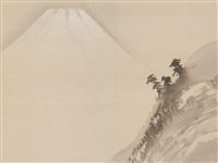 mount fuji by gyokusho kawabata
