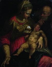 sacra famiglia by bernardino campi