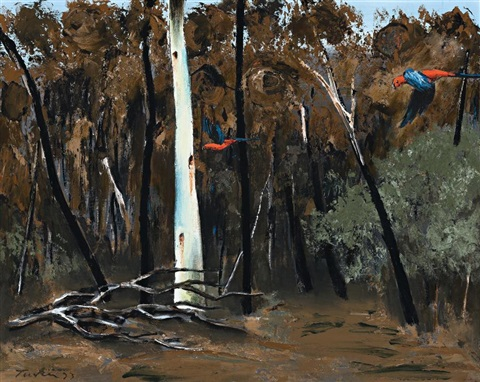 after the bushfire by albert lee tucker