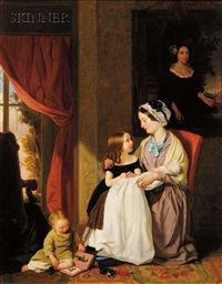 the young family by john thomas peele
