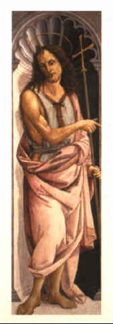 st john the baptist by bartolomeo di giovanni