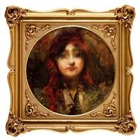 portret cyganki by leopold pilichowski