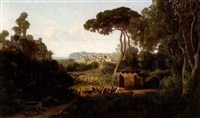 paysage andalou by adolphe-paul-emile balfourier