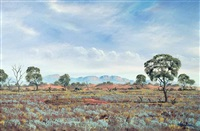 central australian landscape by jack absalom