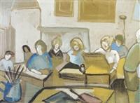 drawing class at kensington by phil rafferty