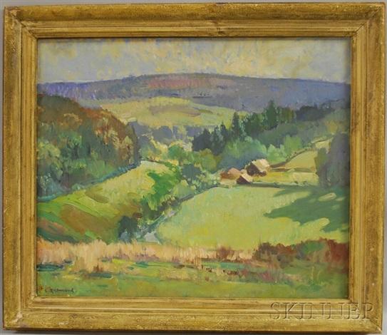 an english landscape by leonard richmond