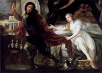 joseph und die frau des potiphar by andrea celesti