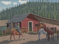 riding stable by fred darge