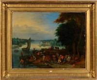 le marché aux poissons by theobald michau