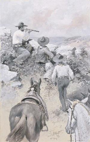 cowboys shooting by charles g copeland