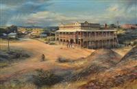 railway hotel, ravenswood, qld by kenneth william david jack