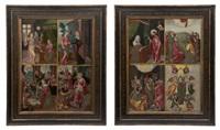 retable avec huit scènes de la vie de la vierge (pair) by flemish school-antwerp (16)