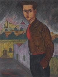 retrato de andrés henestrosa by manuel rodríguez lozano
