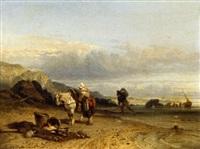 le retour de pêche by théophile victor emile lemmens