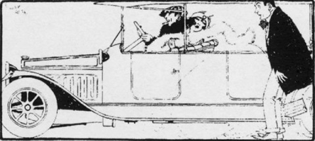 amoeba and the auto by ralph barton