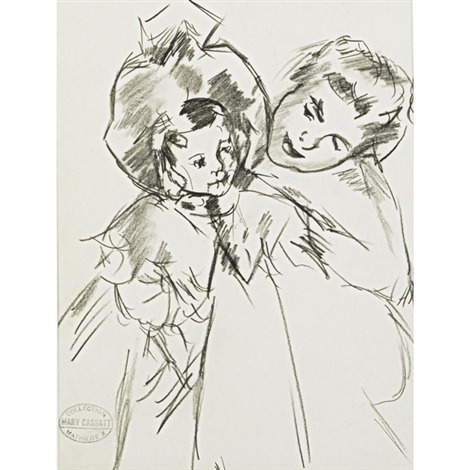 untitled mother and child by mary cassatt