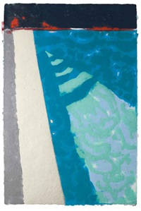steps with shadow by david hockney