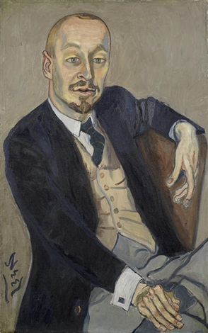 the baron by alice neel