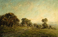 morning light, surrey by harold goldthwaite