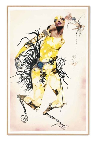 shake a tail feather by wangechi mutu