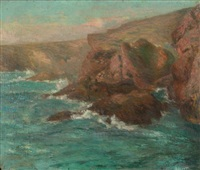 falaise by henry moret