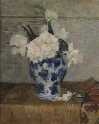 bouquet de fleurs by eugene lawrence vail