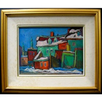 old houses in st. henri by john stanley walsh