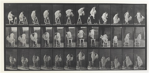 animal locomotion, pl. 172 by eadweard muybridge