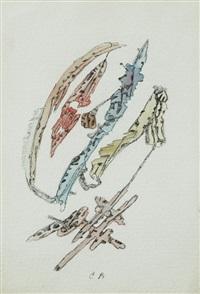 dessin automatique n° 1 by camille bryen