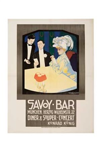 savoy-bar by georges rogier