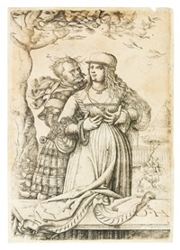 the lovers by daniel hopfer