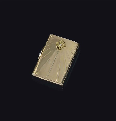 cigarette case by gabriel niukkanen
