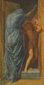 love and death by george frederick watts