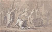 le sacrifice de polyxène by antoine rivalz