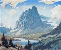 mount eisenhower by barbara (barleigh) leighton