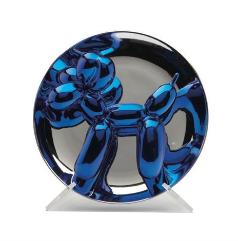 balloon dog blue by jeff koons