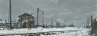 deserted sidings, feltham by ken howard