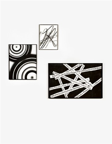 abstract overlapping targets 2 others group of 3 by karl haendel