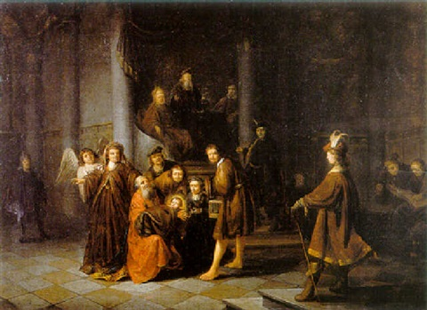 the presentation in the temple by jacob van spreeuwen