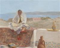 la fiancée juive, tanger by alphonse legros