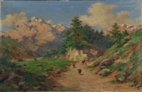 paesaggio montano by silvio poma