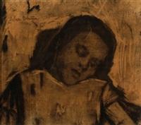 sleeping girl by suze bisschop-robertson