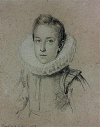 portrait de federico colonna by ottavio maria leoni
