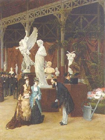 the paris salon by camille léopold cabaillot lassale
