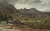 loch eilt, invernessshire by james docharty