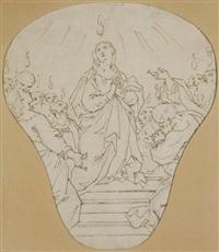 la pentecôte by antonio consetti