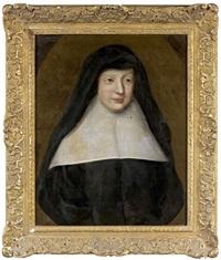 portrait de soeur françoise d'aligre by henri gascars