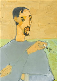 self-portrait by dang xuan hoa